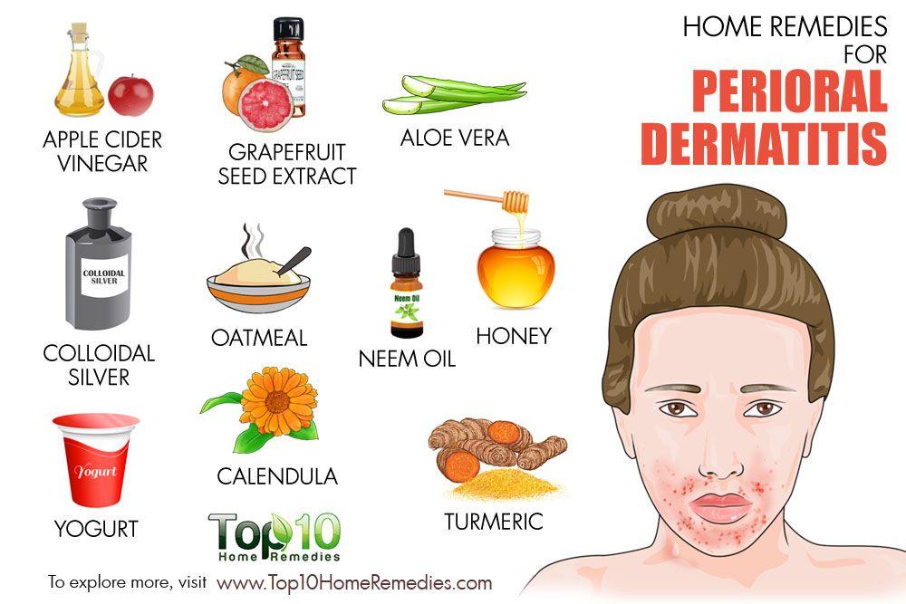 dermatitis perioral remedio casero
