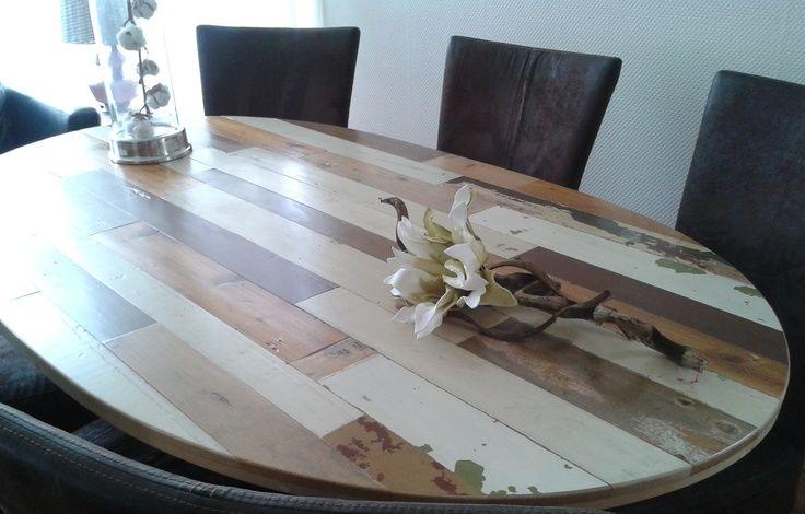 sloophout tafel beige - Google zoeken