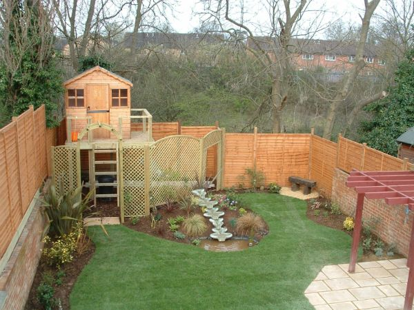 Garden Sheds For Kids child friendly garden: completed project | homebuilding