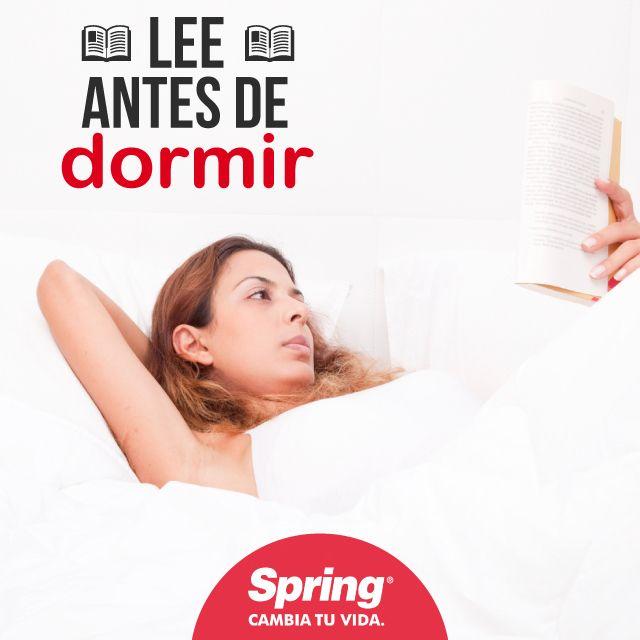 Leer antes de dormir relajará tu mente y te ayudará a conciliar el sueño más rápido
