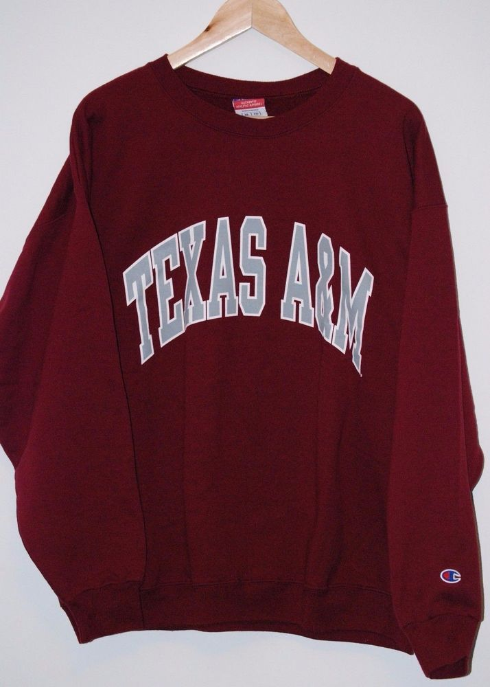 22d696b55 Texas A M Crewneck Sweater Sweatshirt by Champion! XL in 2019 ...