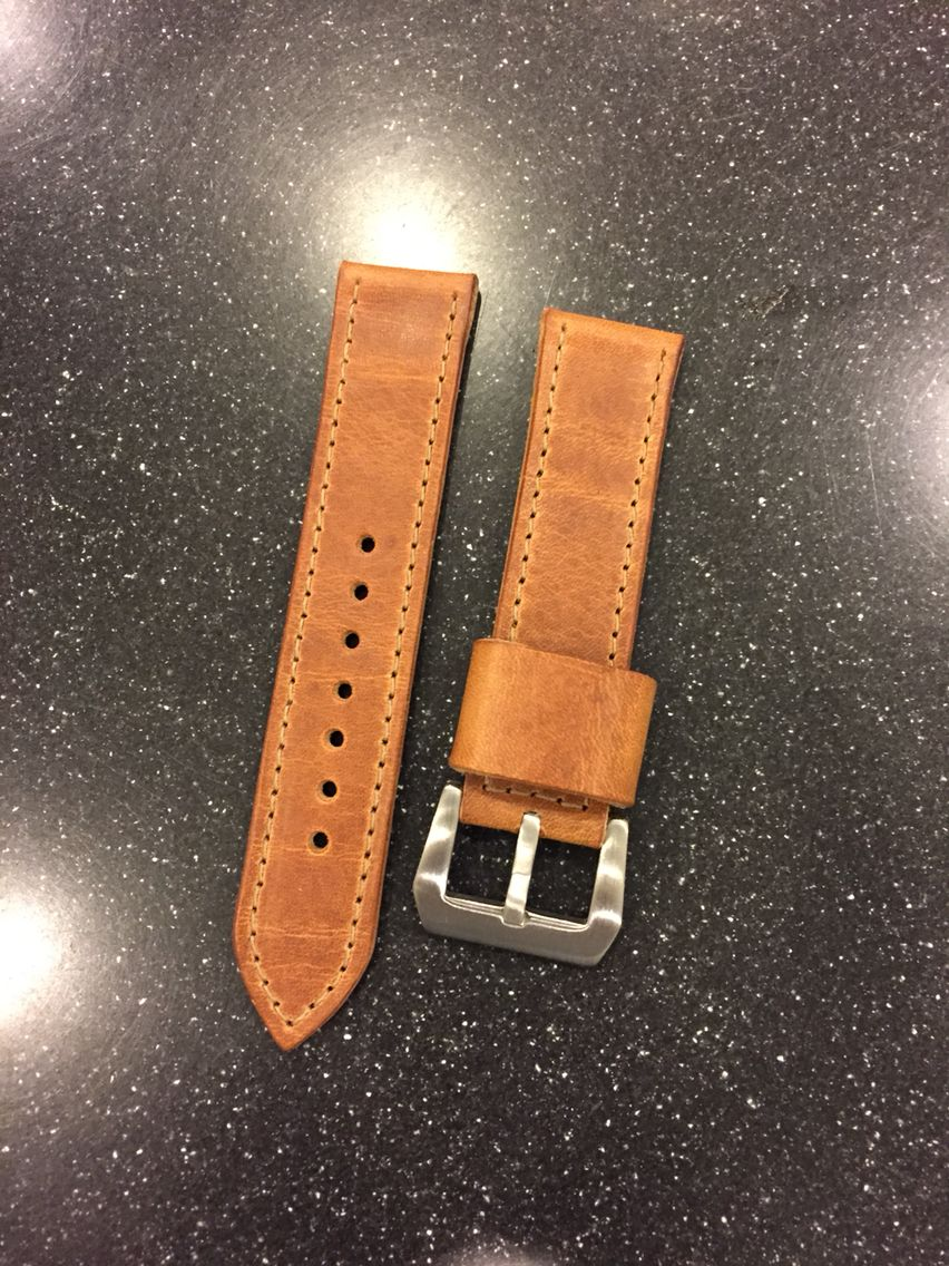 Custom Fine Watch Straps from 922Leather.com