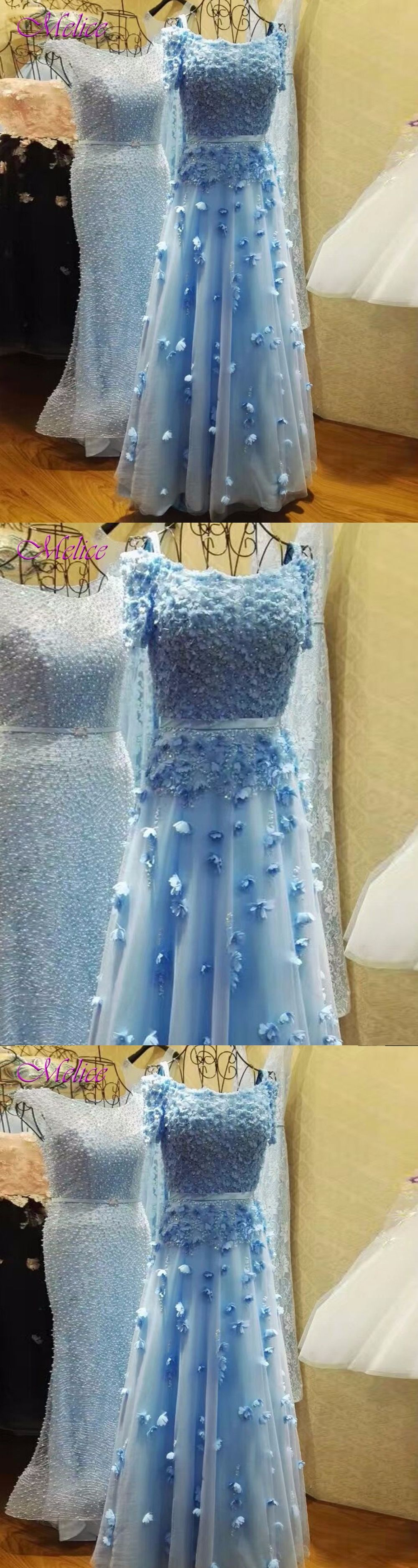Melice Gorgeous Appliques Short Sleeve Long Evening Dresses