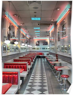 Pin By Effy Huquelin On Things I Love Diner Aesthetic Diner