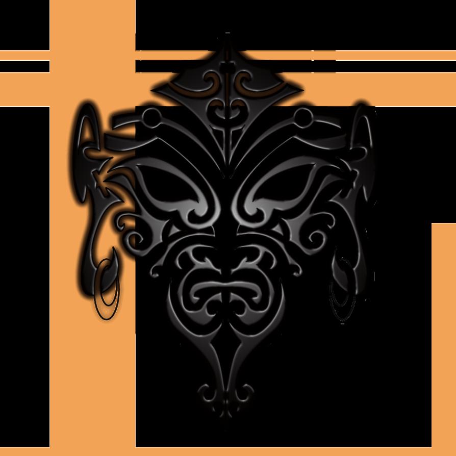 Arm Tattoo Png Maori: Maori Face Tattoo By ~B-Rox-U On