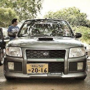 Daihatsu Cuore Mira L701 Gtr Look Front With Images Daihatsu