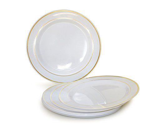 Plastic Wedding Plates Bulk Plastic Plates 6 Dessert Bread