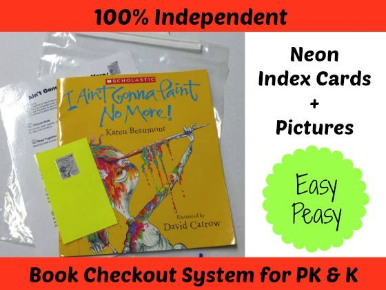 How to Send Books Home with Kids Activities for Preschoolers