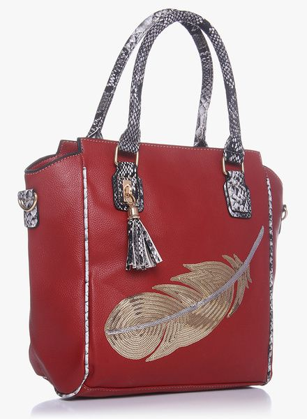 886c66ffe5 Buy Ladida Red Handbag for Women Online India, Best Prices, Reviews |  LA193BG48BATINDFAS