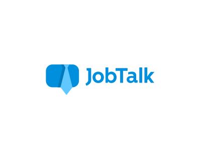 Groovy Job Talk Logo Design Online Job Board Smart Logos Download Free Architecture Designs Licukmadebymaigaardcom