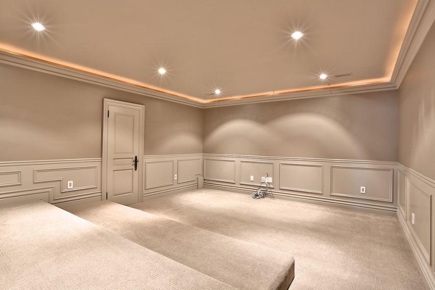 Media Room Basement Remodel 0: Media Room- Layout Only
