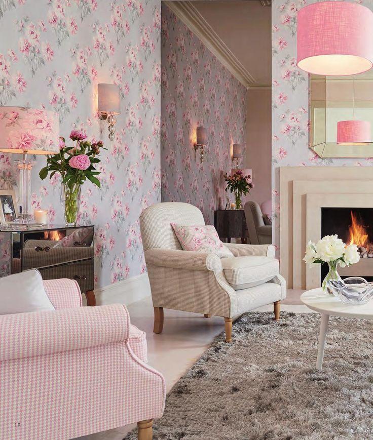 Modern Bedroom Wallpaper Pattern Bedroom Interior For Girls Laura Ashley Bedroom Wallpaper Ideas Bedroom Design Ideas For Men: Beautiful Chairs ¸.♥´´¯`♥
