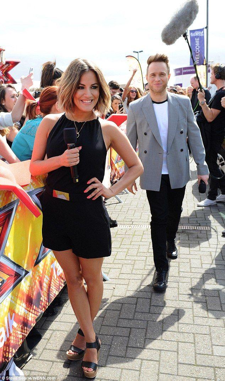 Caroline Flack X Factor