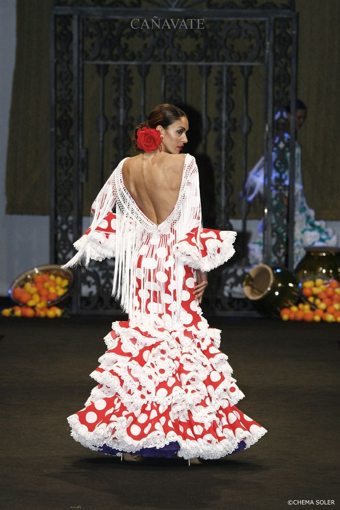 Moda flamenca vestidos de noche