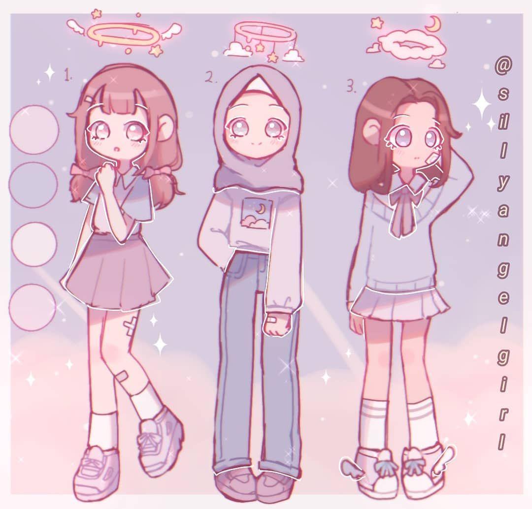 Alya Ongoing Dtiys On Instagram Outfit Ideas Feel Free To Use It Girls Cartoon Art Cute Kawaii Drawings Cute Drawings