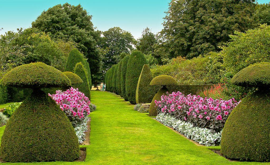 Hinton Ampner Garden In Hampshire The Beautiful Gardens Of Hinton Ampner At Bramdean Near Winchester Beautiful Gardens Most Beautiful Gardens Garden Planning