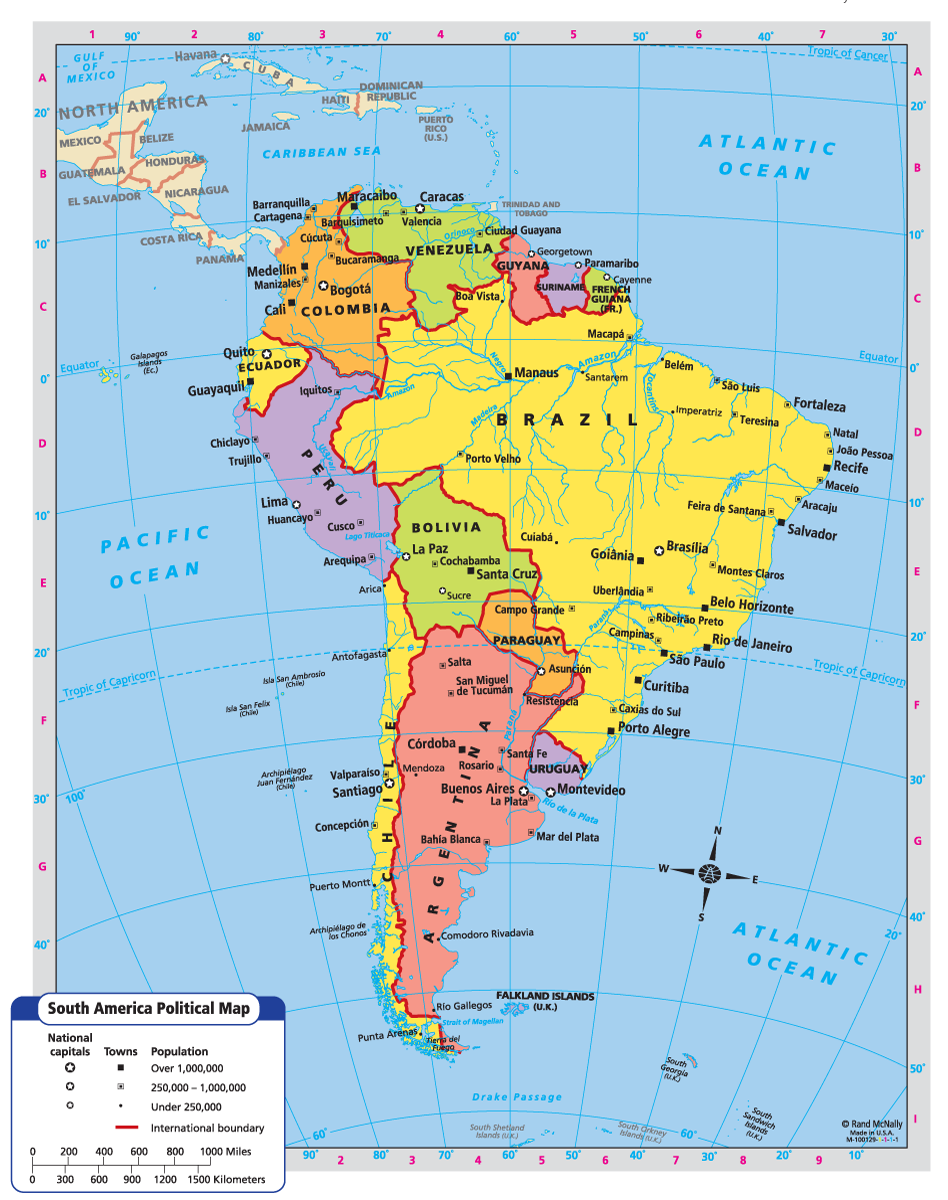 South America Map South America Pinterest South America Map - South america map