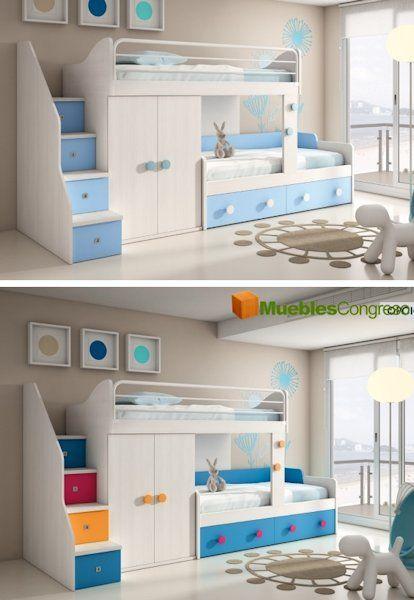 Literas juveniles buscar con google muebles kids for Ofertas de muebles juveniles