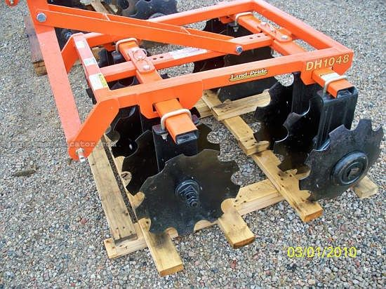 Land Pride Tractor Attachments : Land pride dh disk harrow for sale at