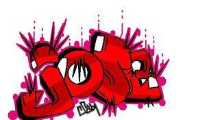 Resultado De Imagen Para Nombre Jose En Graffiti Graffiti Feliz