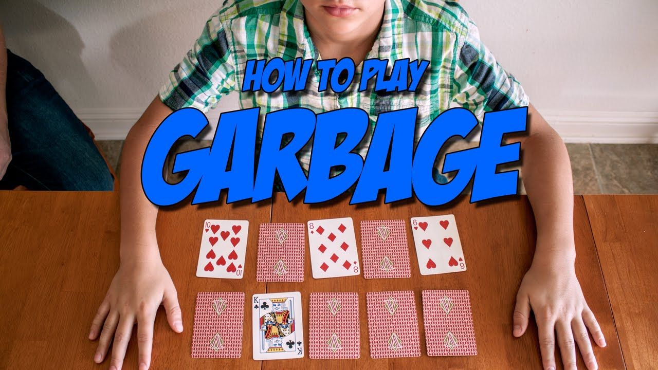 Card Games for Kids Garbage Card games for kids, Games
