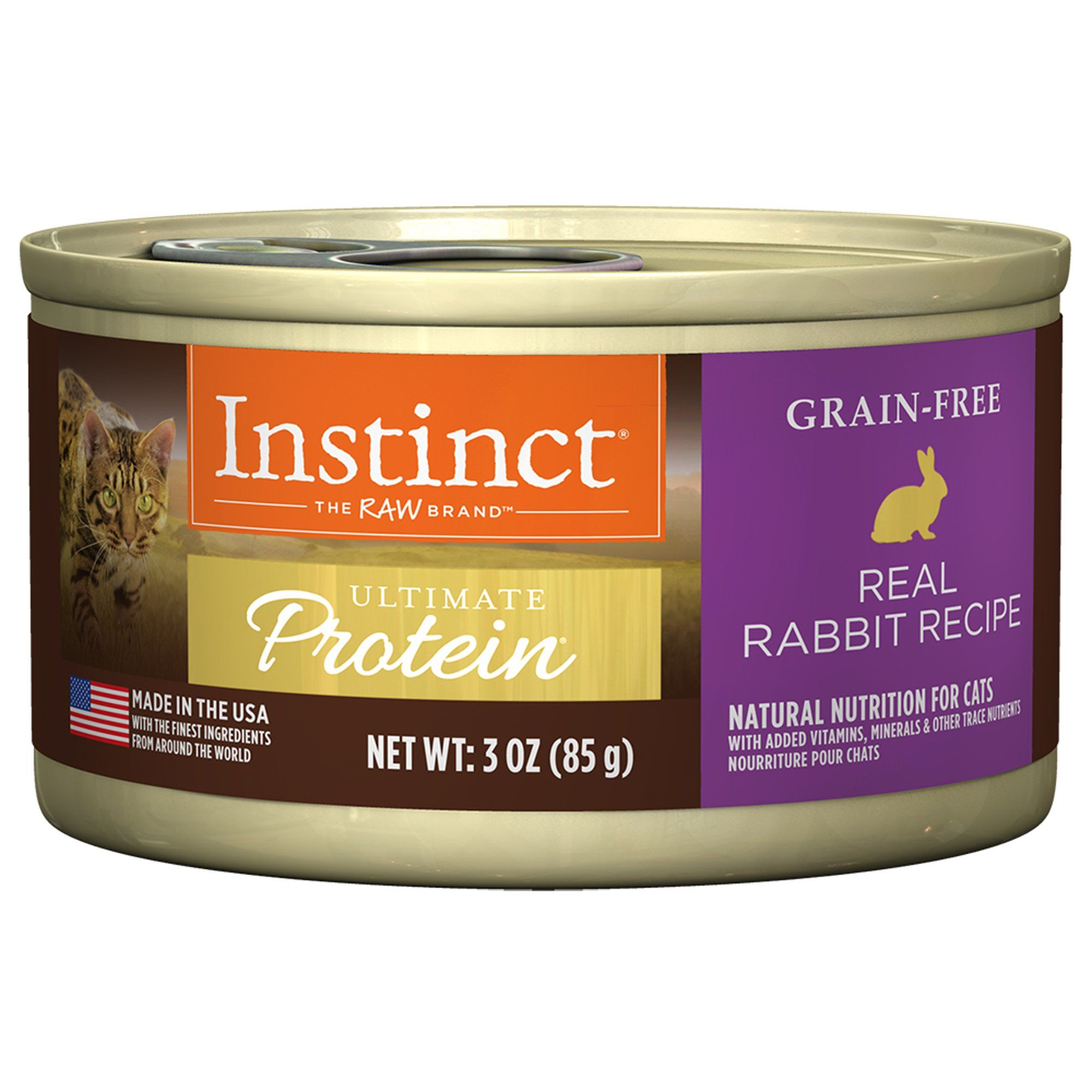Instinct Ultimate Protein Grain Free Real Rabbit Recipe