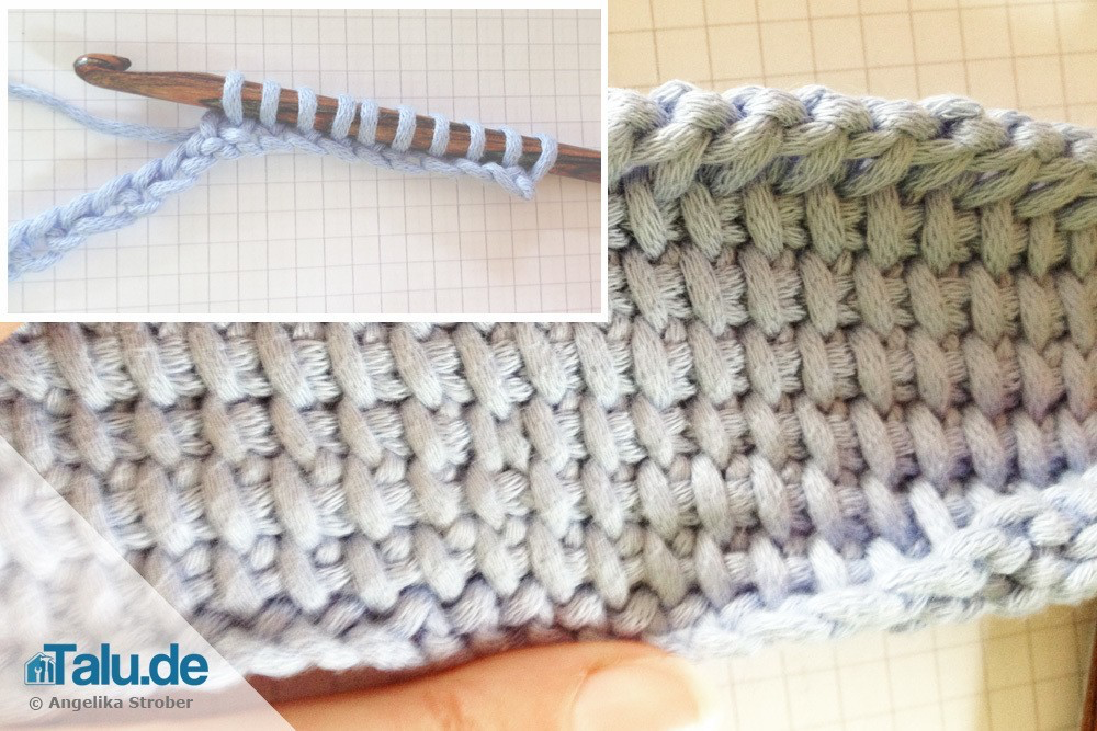 Photo of This is how Tunisian crochet works – basic instructions – Talu.de