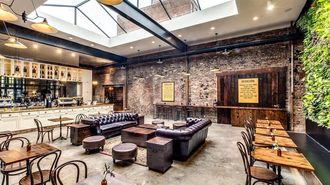 30 Outstanding Coffee Shops For Takeout Or Outdoor Dining In Nyc Coffee Shop Interior Design Cafe Interior Design Coffee Shops Interior