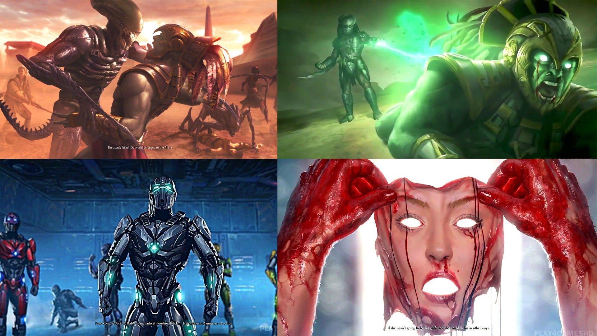 Mortal Kombat X All Endings All Characters Mortal Kombat X