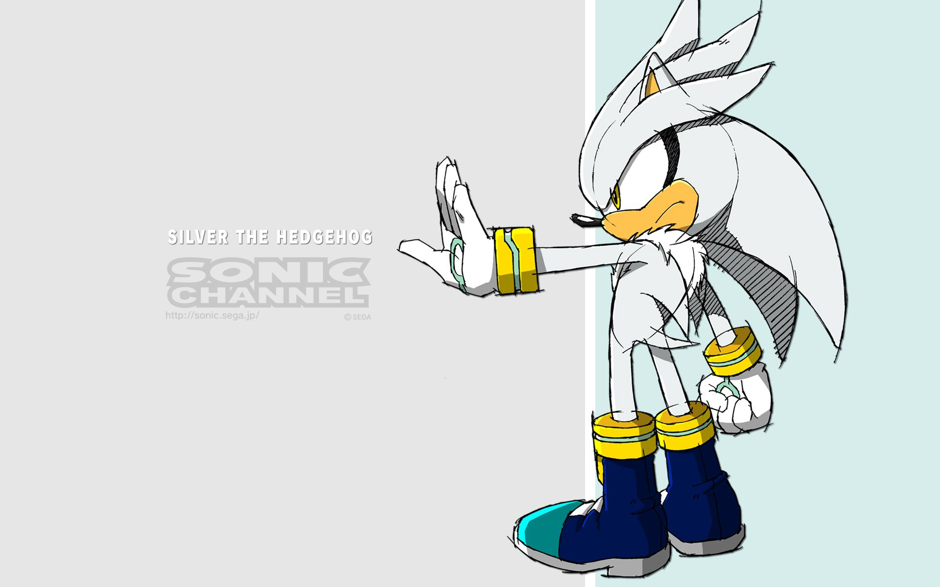 Sonic Channel Wallpaper Silver The Hedgehog Silver The Hedgehog Wallpaper Sonic