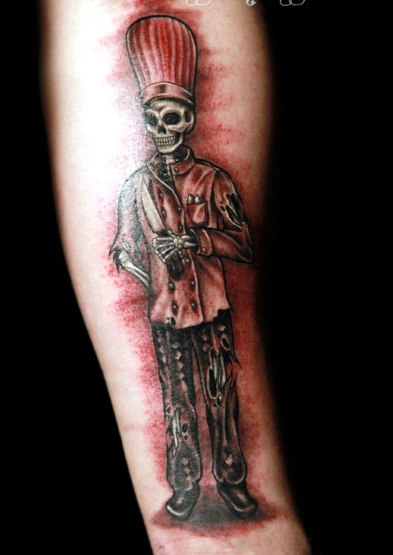 Cool Chef Tattoo Designs