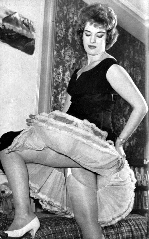 Vintage stockings spick and span