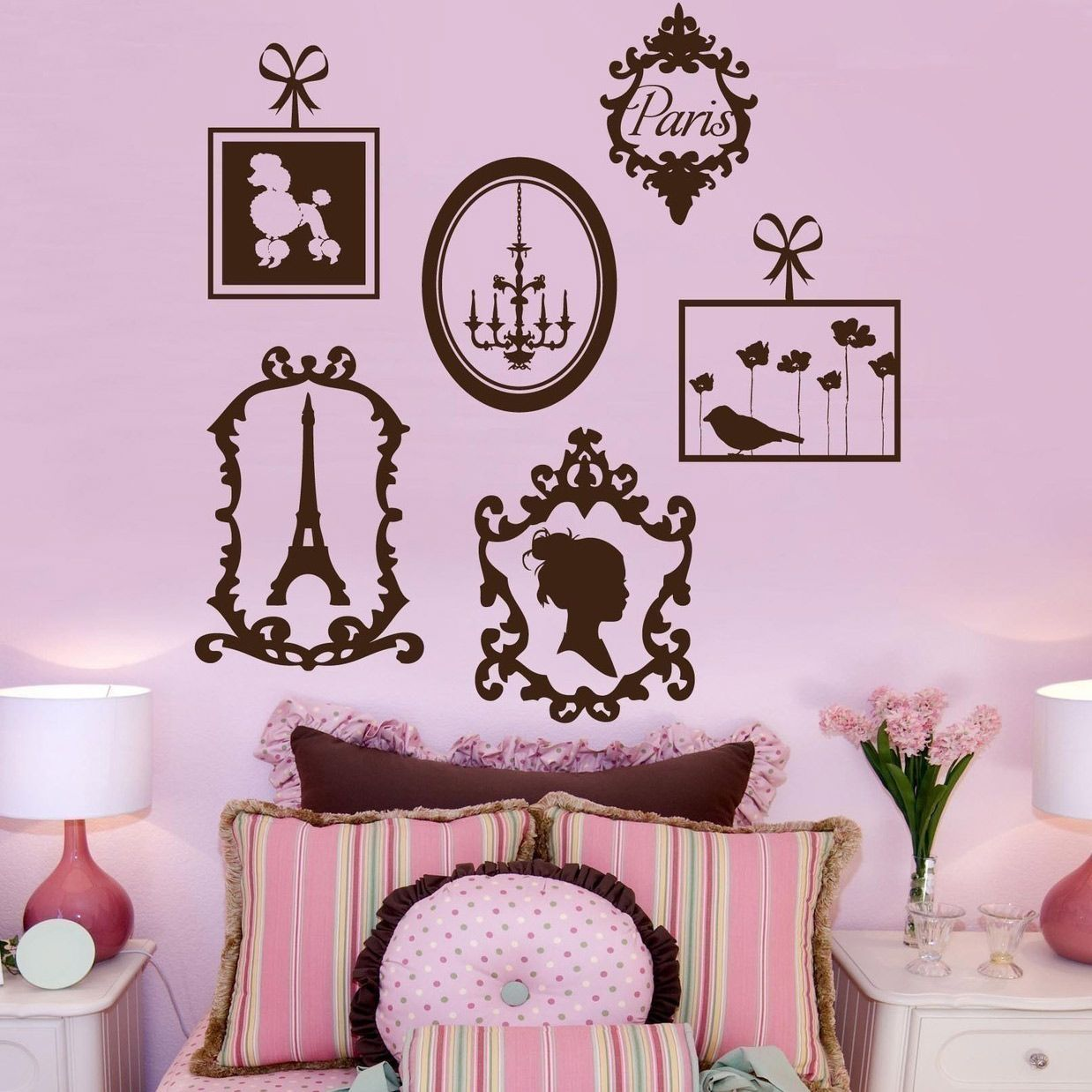 French Frame Collage Wall Decal Laylagrayce