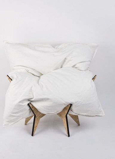 Nothing more need be said nest chair Blanc de Blanc Pinterest