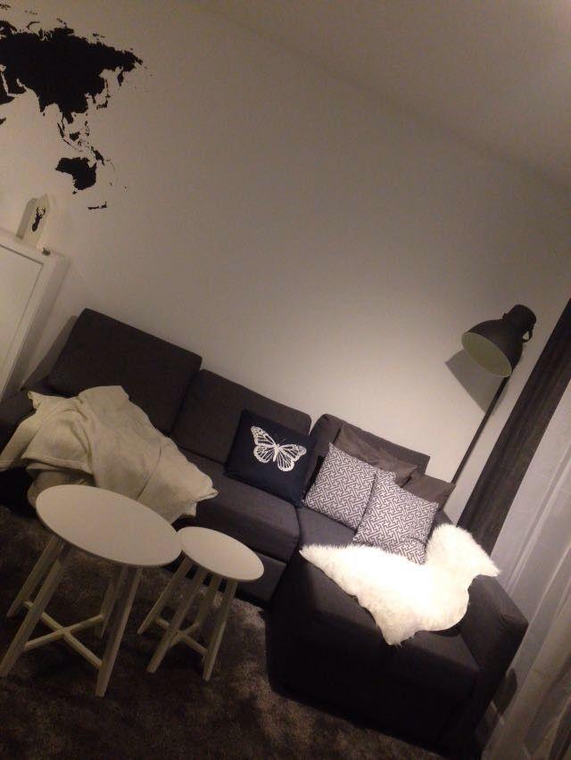 Wohnkonzepte für Sie - Einrichtungsberatung Cornelia F Mall - wohnzimmer schwarz weis grau