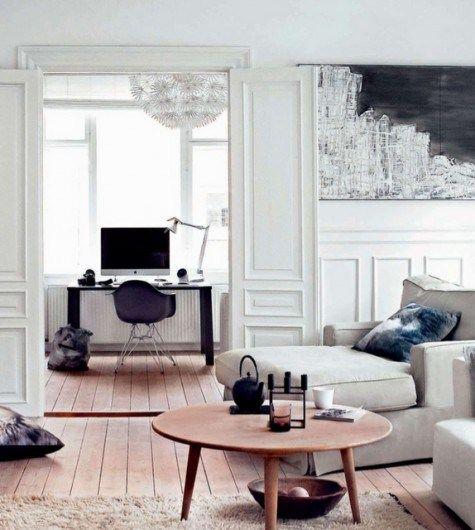 50 Splendid Scandinavian Home Office And Workspace Designs: Over 50 Cool Office Designs & Workspaces For Inspiration