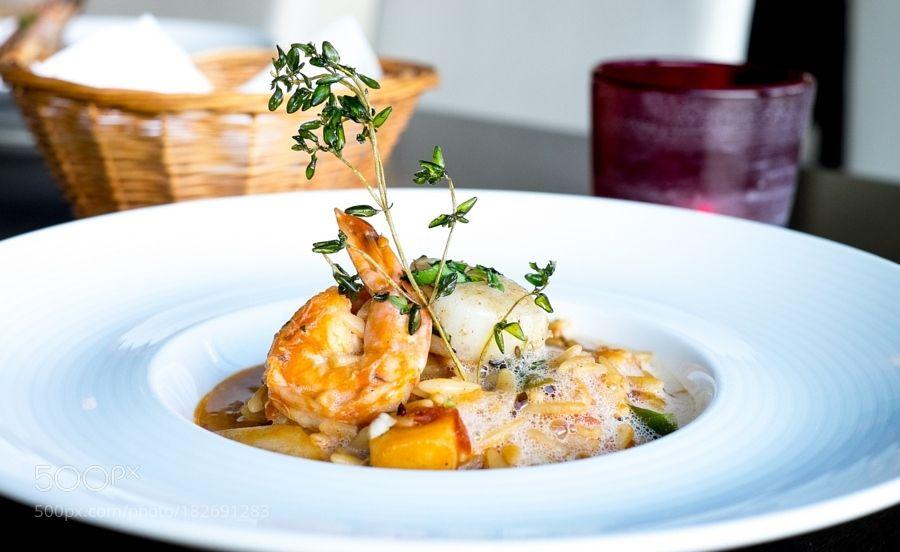 http://500px.com/photo/182691283 Foodwork :) by andy_smith -. Tags: freshcloseupfishfoodplatetastymeallunchvegetabledinnerlambdeliciouscuisinegourmet