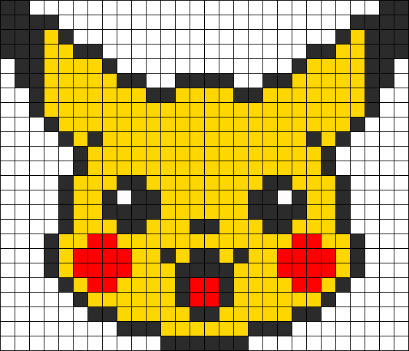 Pokémon Attrapez Les En Perles Hama Pokemon Cross Stitch