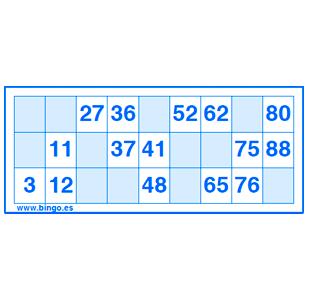 Generador Cartones Bingo 90 Bolas Desarrollo De La Inteligencia
