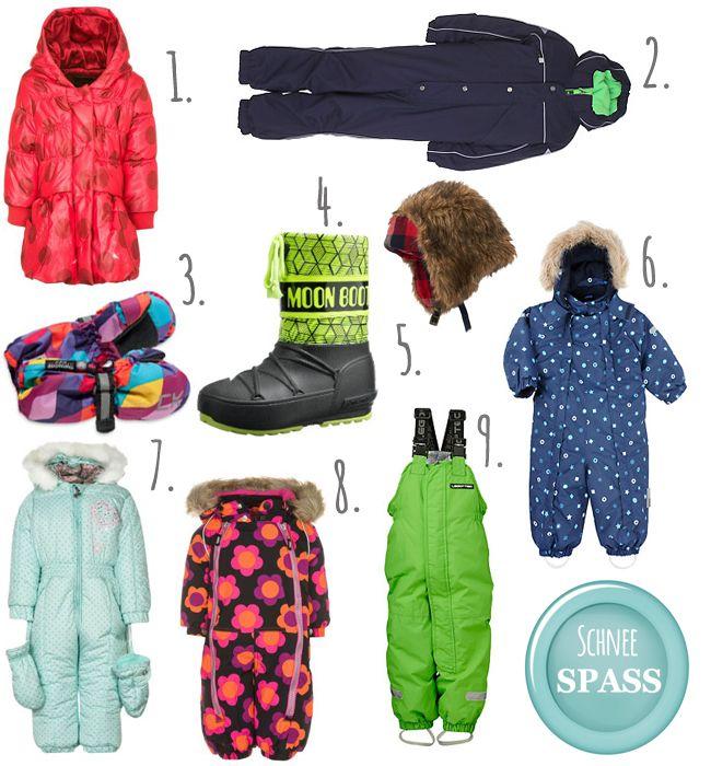 Schneeanzüge für Kids - Karlas Kolumne