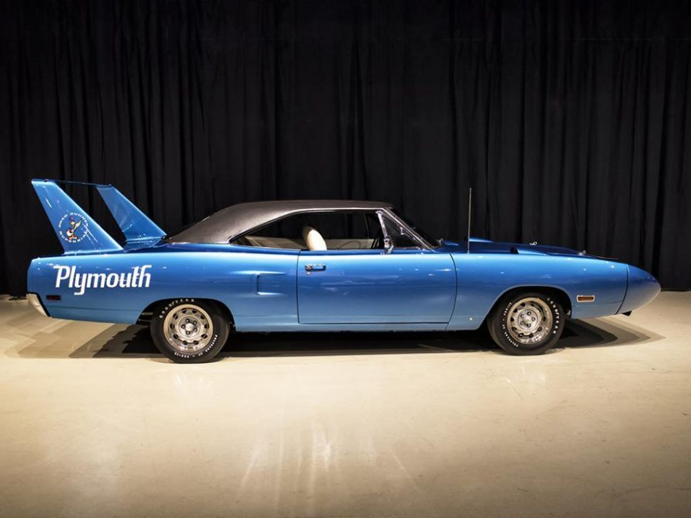 Twoowner Plymouth Superbird flies high at Owls Head New E