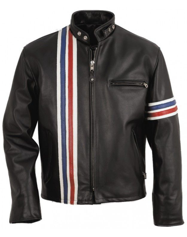 d56db8097f3 Easy Rider Leather Jacket The Easy Rider Jacket is a replica of the leather  jacket worn in the movie Easy Rider by Peter Fonda in 1969.