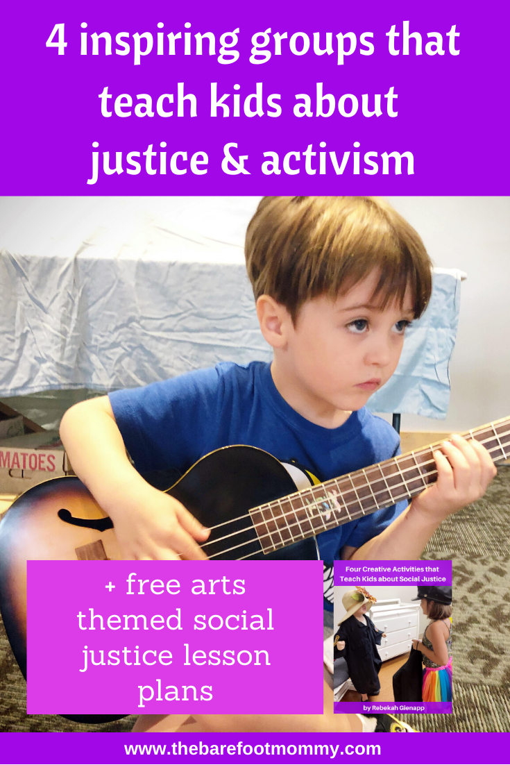 4 inspiring groups that teach kids about justice