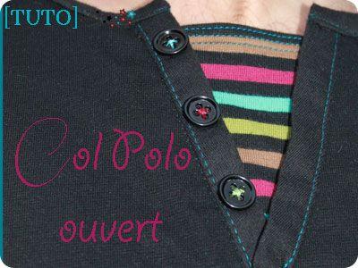 Robe Robe Tuto Polo Femme Encolure Encolure Robe Tuto Polo Encolure Tuto Femme Femme cAjRLq354S
