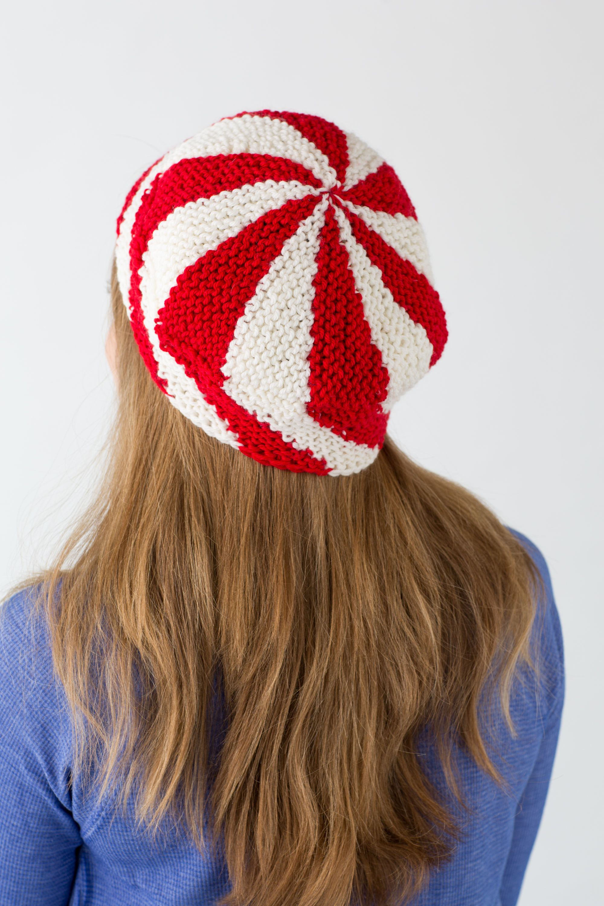 eab059980f5 Loom knit striped hat