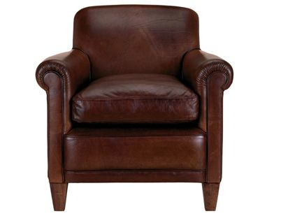 Laura Ashley - Burlington Leather Chair | Metal dining ...