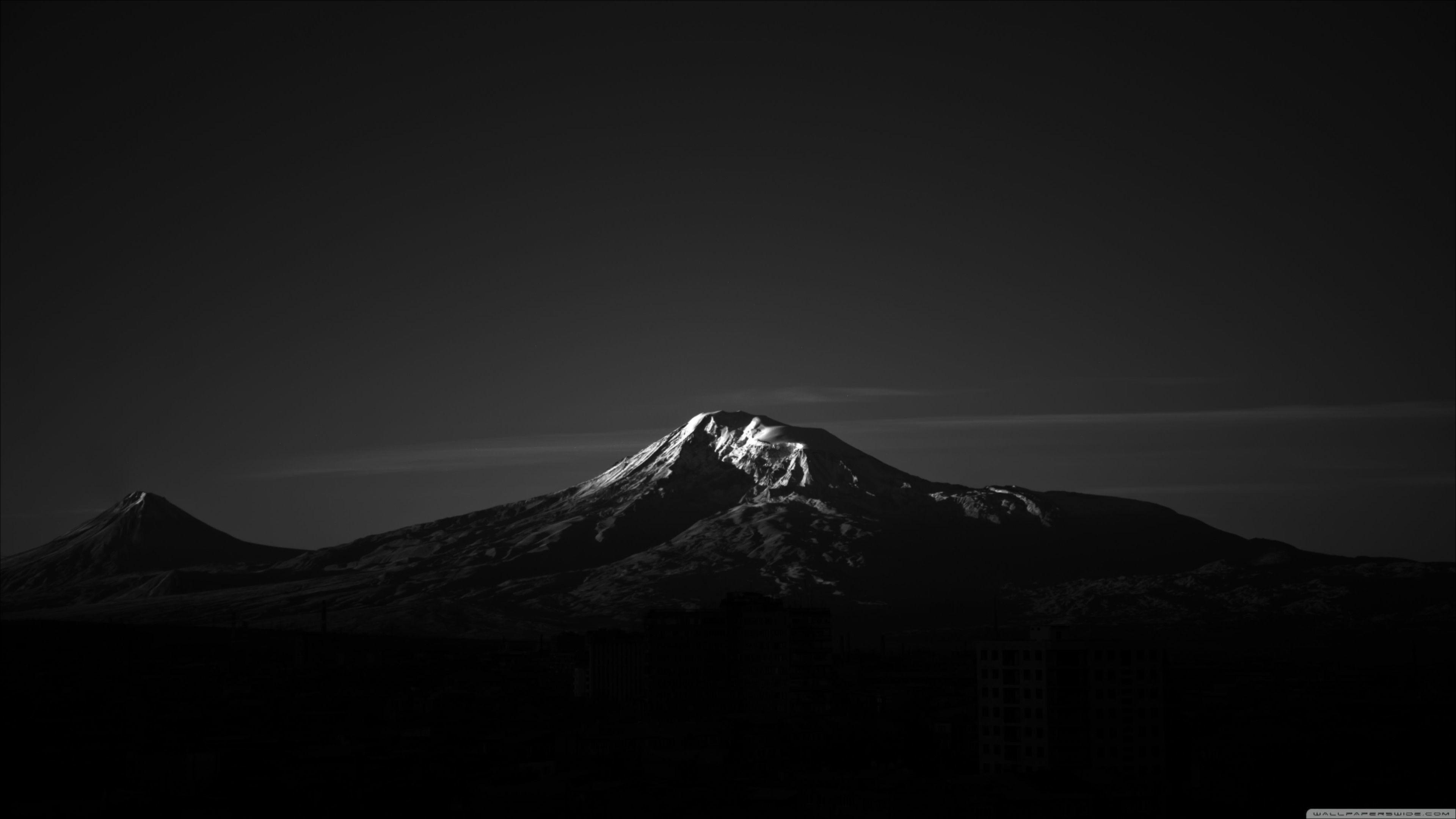 Mountain En 2020 Fond D Ecran Noir Et Blanc Fond D Ecran Pour Ordinateur Ecran Noir Et Blanc