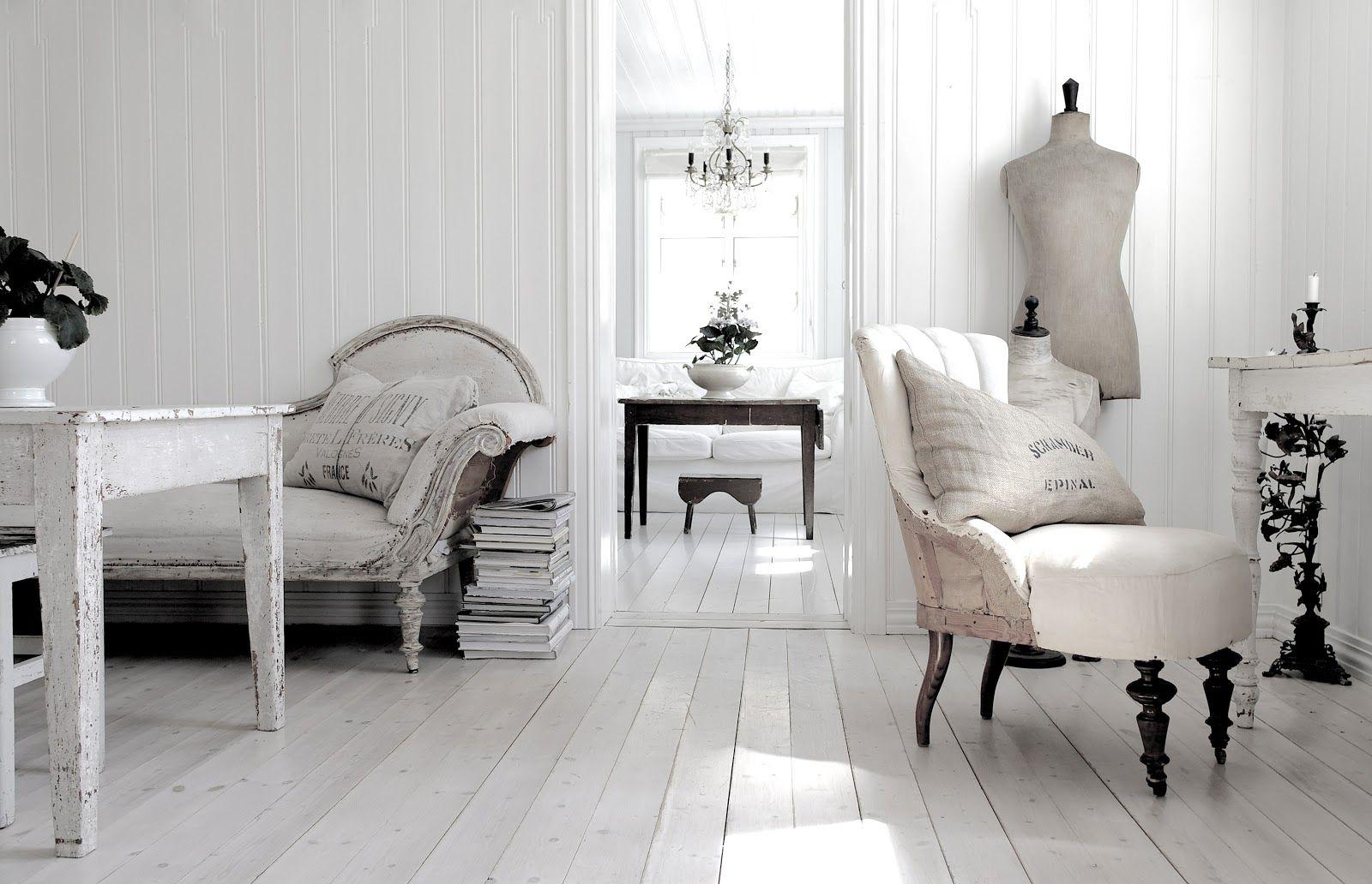 Beautiful Nordic living style Interior, Vintage interior