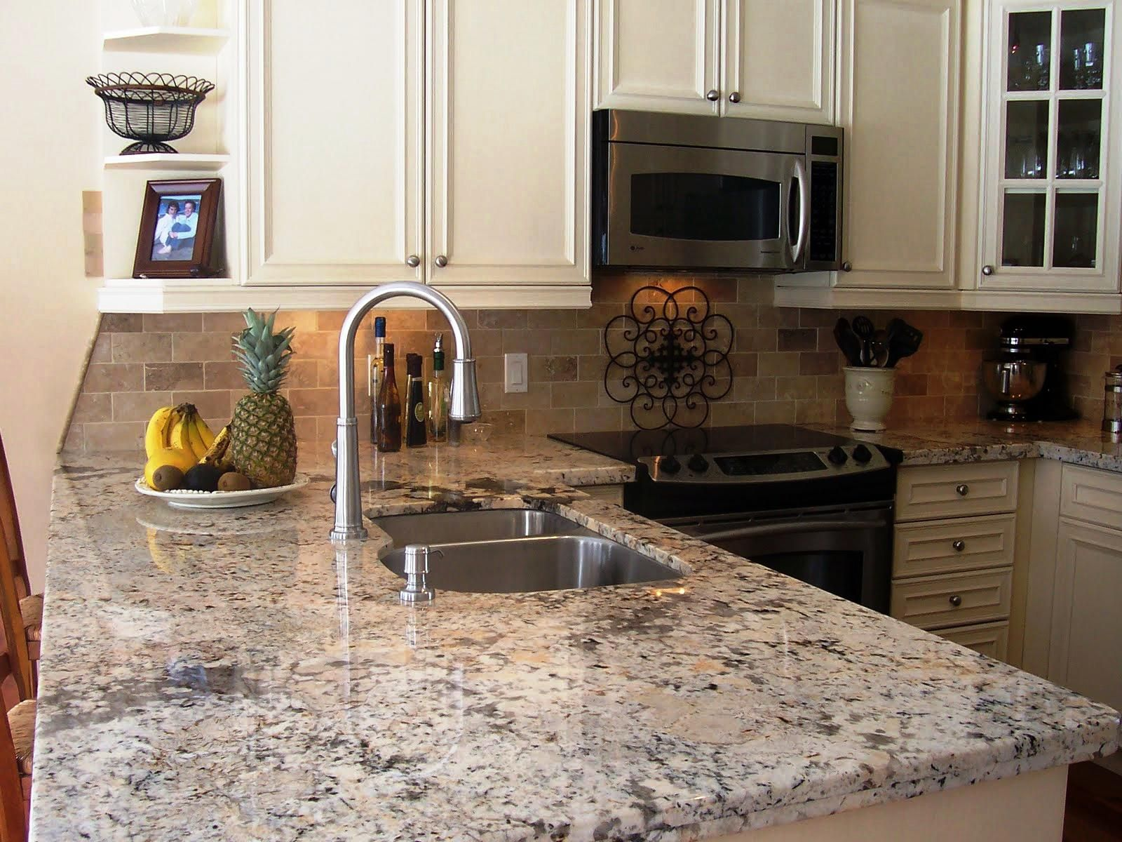 Awesome Sensa Granite Countertops With Stainless Washbasin For