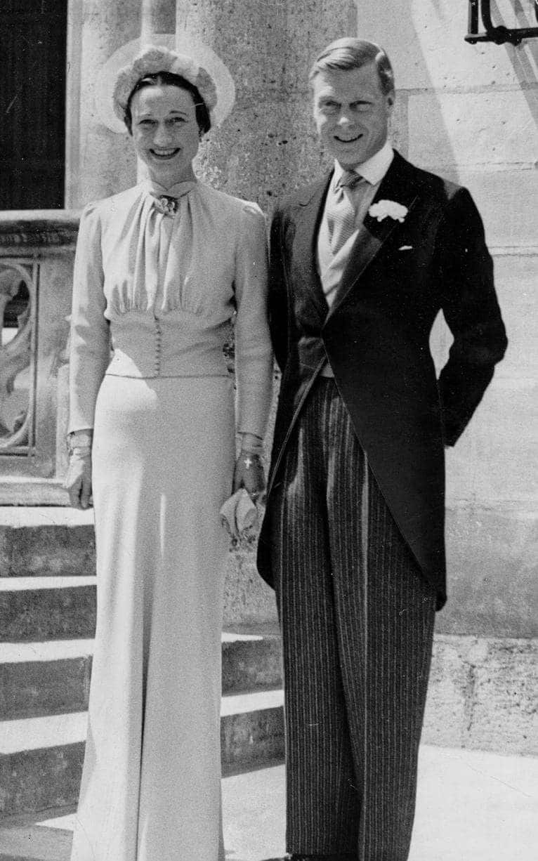 Wallis simpson wedding dress  The most beautiful royal wedding dresses of all time from Grace